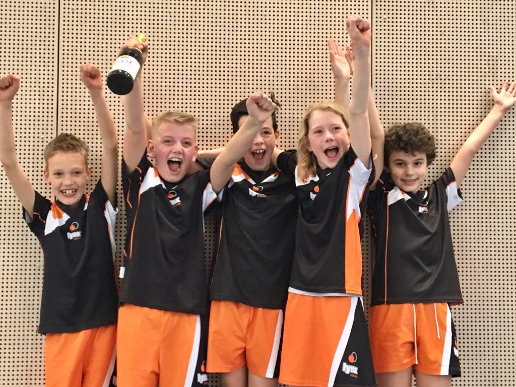 De kleine, grote kampioenen van Lynx E1.  © RODI Media-zh