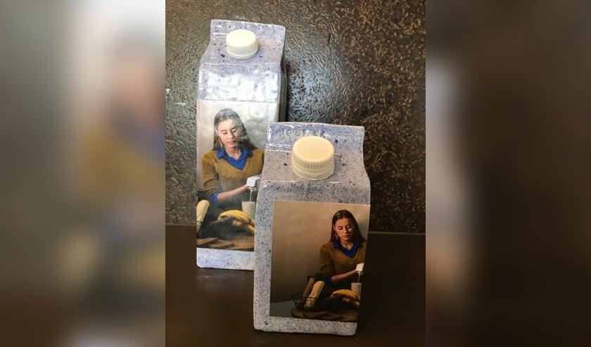 Pakken melk van Wilma Ritsema-Hollander