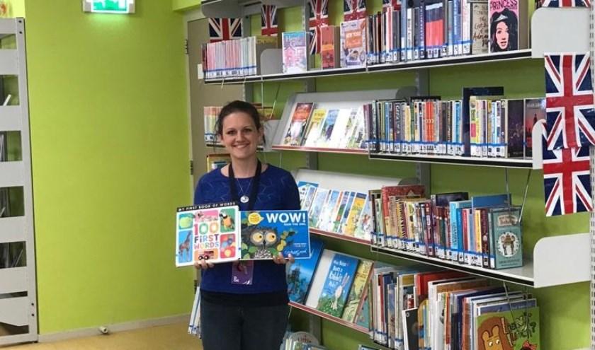 Bij DOK kun je ook Engelse boeken lenen. (Foto: PR)