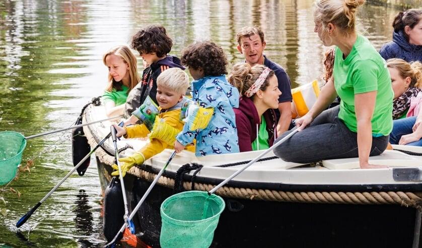 De Canal Cleanup was vorig jaar al een succes en is komende editie maar liefst vier keer zo groot (Foto: Jerry Kooyman)