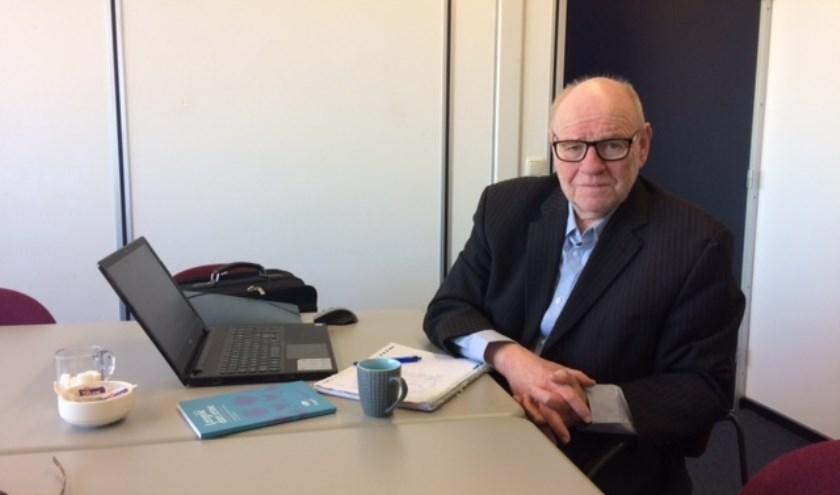 Johan van der Voorn, de nieuwe trainer van de herenselectie van HV DIOS