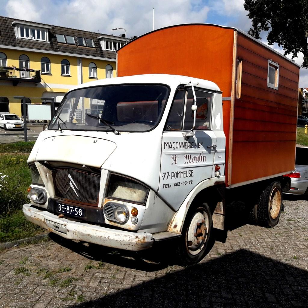 De Franse kiepauto die nog nooit in zijn  moederland is geweest  © RODI Media-zh