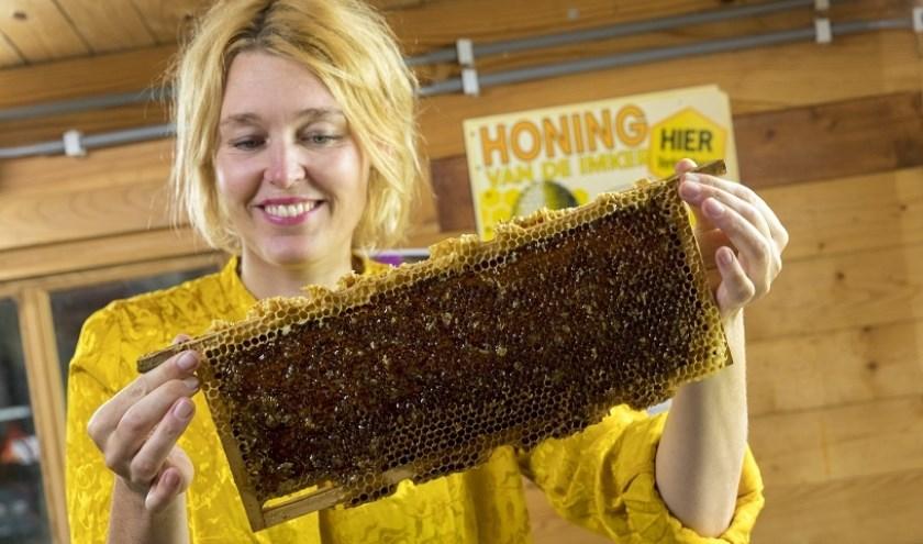 De bijen op Volkstuinencomplex 'Levenslust' leveren heerlijke honing