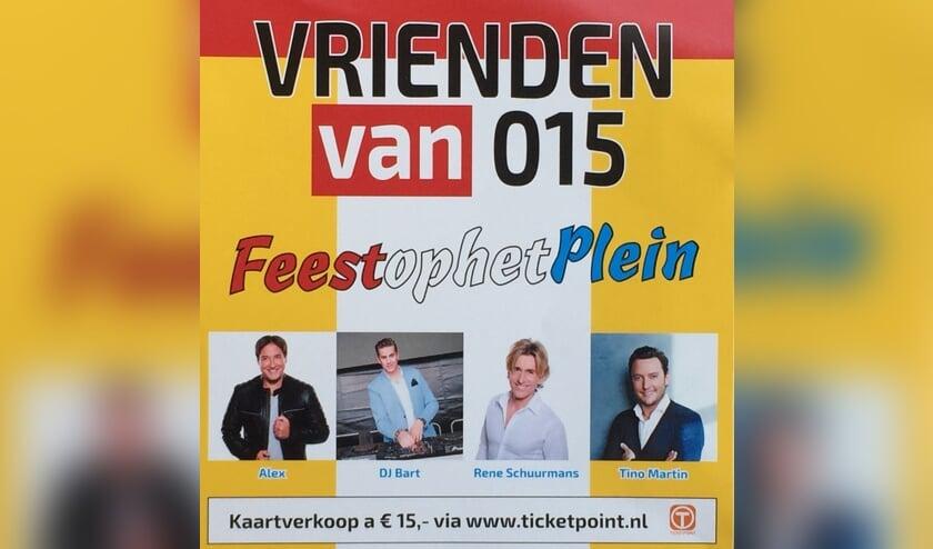 Win kaarten voor Feest op het Plein bij Sportpark Tanthof!