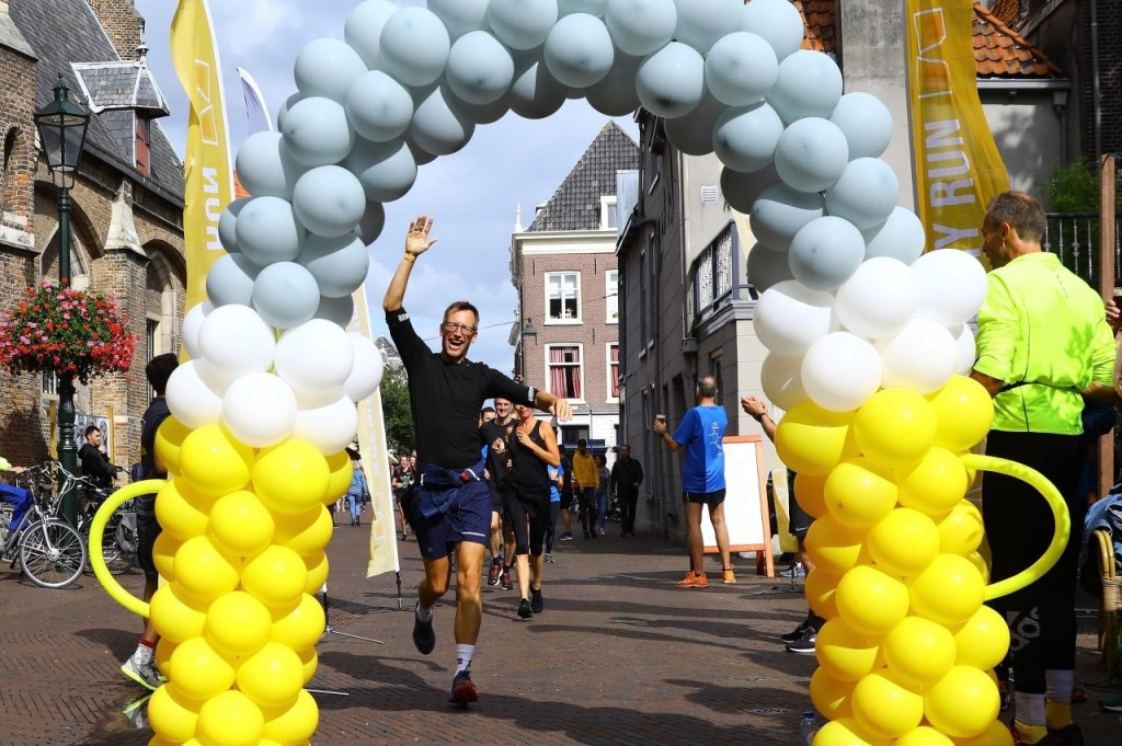 Brewery run finish Oude Jan Delft - 2019 Foto: KOOS BOMMELE © RODI Media-zh