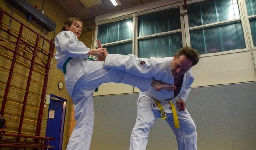Jiu jitsu bij Budo Gouweleeuw heeft alles in zich: conditie, techniek en inzicht