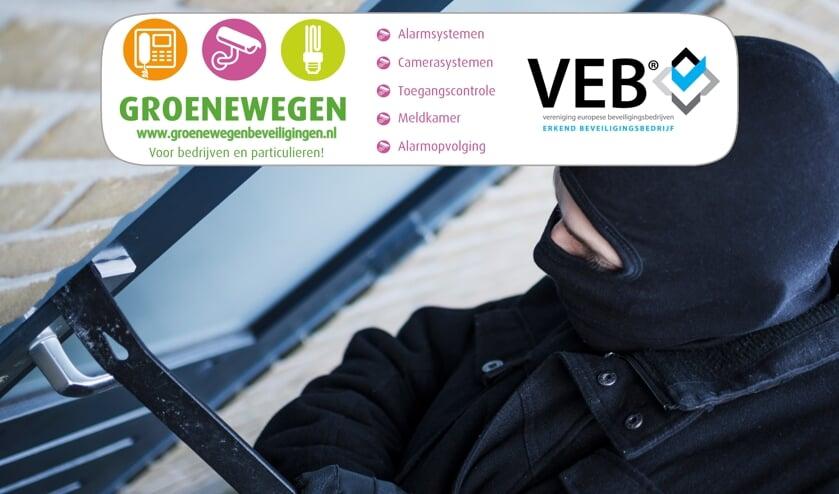 Goede beveiliging schrikt inbrekers af. Goede toegangscontrole heeft zelfs nog meer voordelen. (Foto: PR)