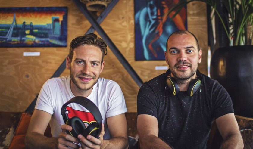 Dorus Galama en Tom Leenders leveren een top koptelefoon met extra service