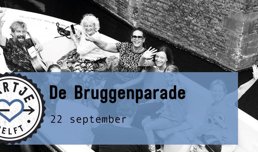Haal snel je gratis tickets voor de Bruggenparade!