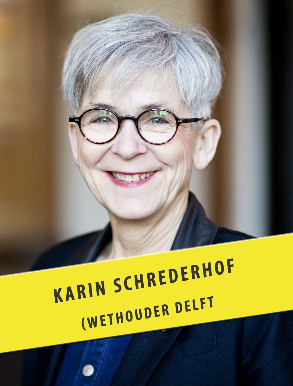 Wethouder Schrederhof geeft het goede voorbeeld  © RODI Media-zh