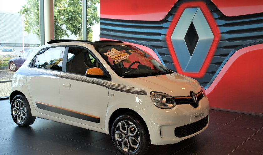 De Renault Twingo gaat tijdens Salon de Promotion met 1.500 euro voordeel de deur uit.