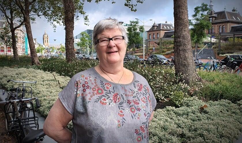 Coby de Koning, gemeenteraadslid namens Stadsbelangen Delft (Foto: Willem de Bie)
