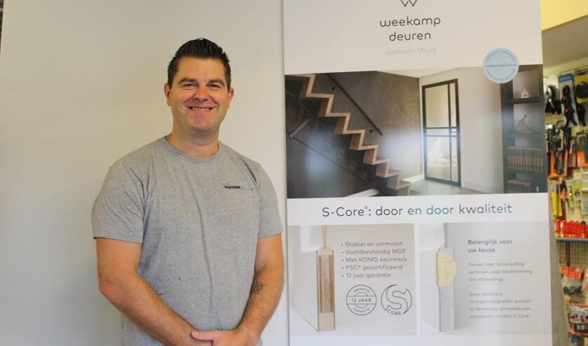 Een mooie deur is een sieraad voor je huis, vindt Danny van der Nol. | Foto: EvE