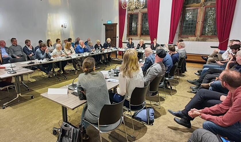 Beeldvormende bijeenkomst 'incidentele festiviteiten' (foto: Willem de Bie)