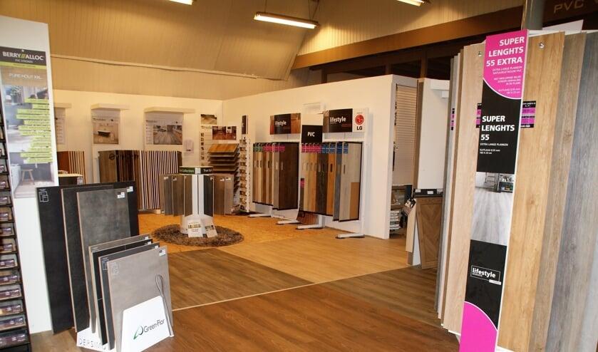 <p>De showroom met pvc vloeren van All Interieur.</p>