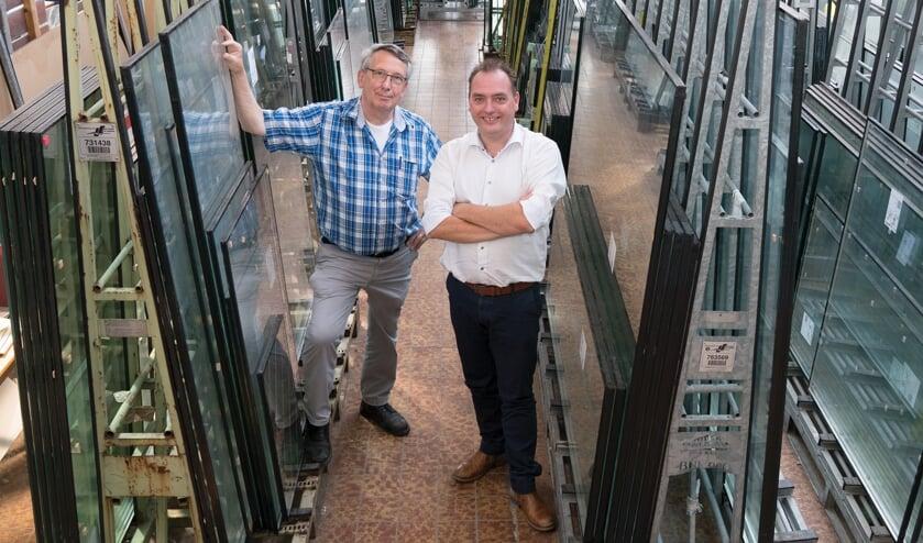 <p>Johan Zantman (links) en Martin van Leeuwen.<br>(foto: Marjolein Droog)</p>
