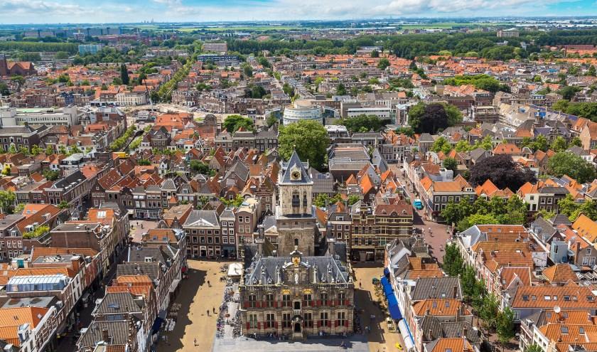 Derde plaats voor Delft in de top tien culturele steden