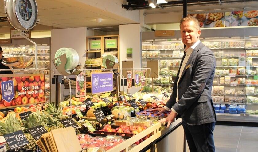 Martin Panis is trots op zijn nieuwe winkel. (Foto: EvE)