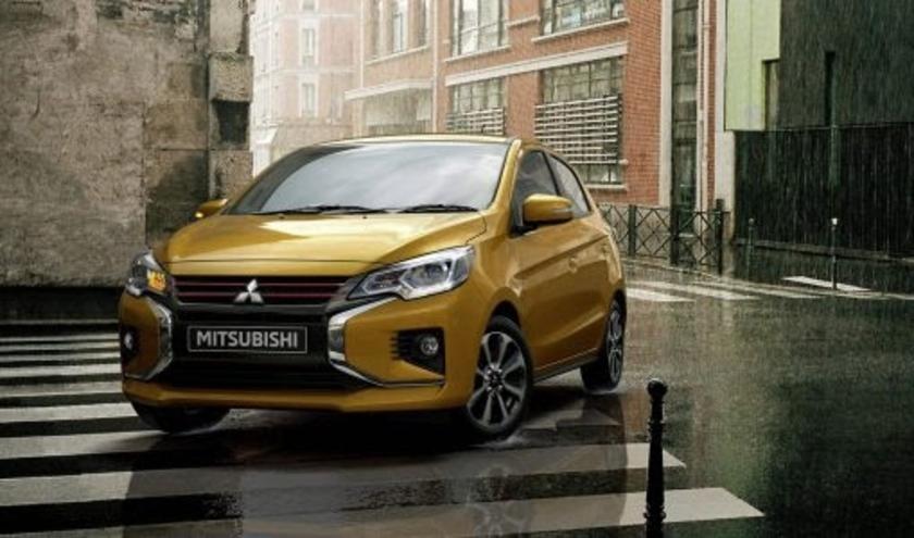 De vernieuwde Mitsubishi Space Star is gearriveerd bij de dealers.