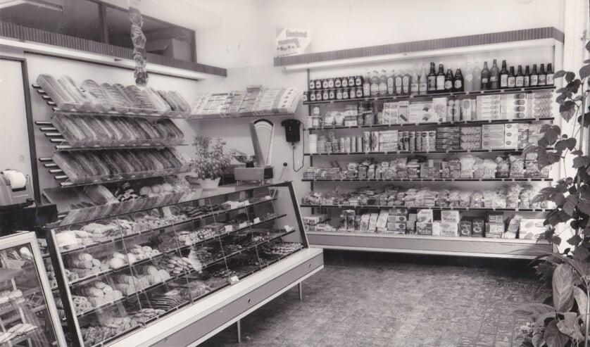Brood- en banketbakkerij L.H. Rietvelt, toen nog in de Doelenstraat