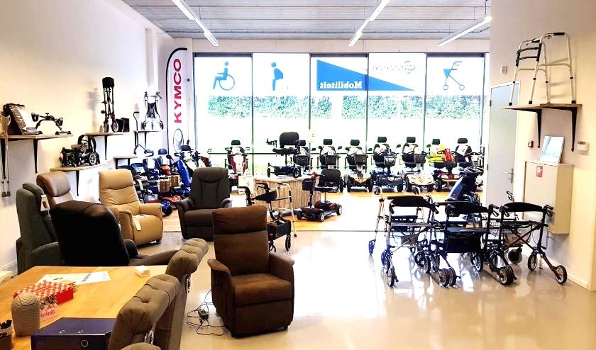 De showroom van Groenen Mobiliteit in Berkel en Rodenrijs