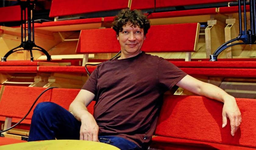 Steven de Laet is tevreden met de gestreamde voorstellingen (Foto: Koos Bommelé)
