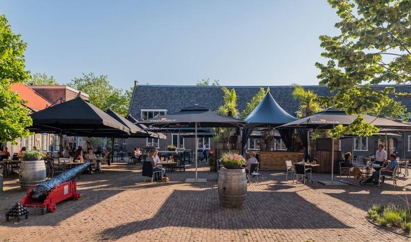 Het terras van restaurant Kruydt is flink uitgebreid (Foto: Sharman Media)