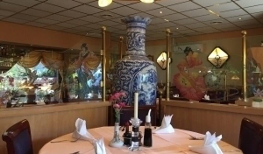 Het restaurant China Garden is dagelijks geopend, ook voor afhaal