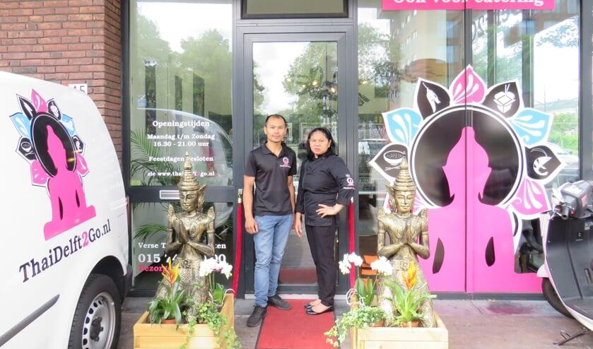 ThaiDelft2Go is blij met de nieuwe bedrijfskleding!