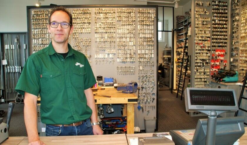 Jeroen van der Werf is dé specialist op het gebied van sleutels.
