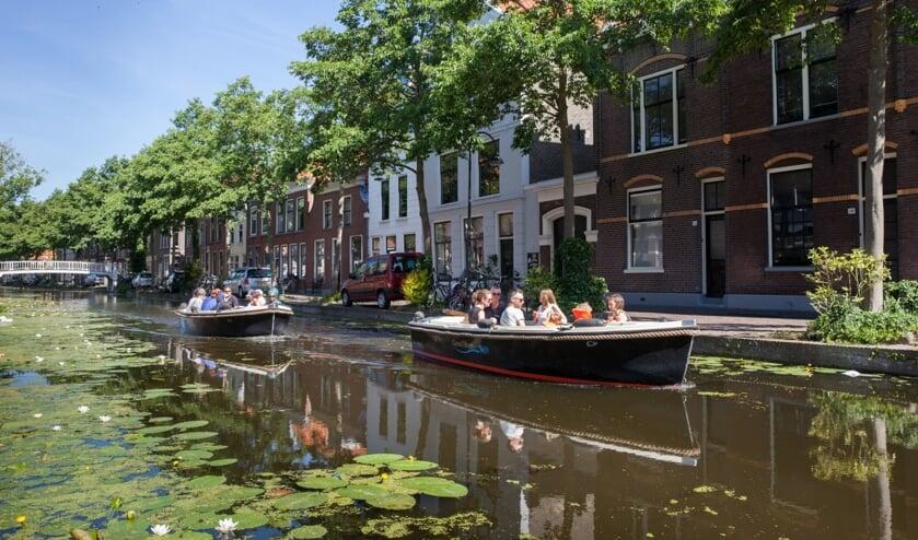 Delft is mooi, maar nóg mooier vanaf het water!