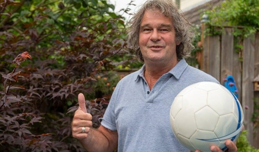 """Kees Derwort is na een voetballeven bij DHL nu vaak bij SEP te vinden: """"DHL en SEP zitten in mijn hart."""" (Foto: Roel van Dorsten)"""