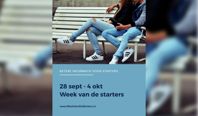 De Week van de Starters vindt plaats van 28 september tot en met 4 oktober.