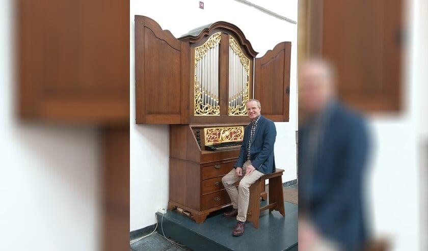 <p>De bekende organist Bas de Vroome speelt zondagmiddag in Pijnacker</p>