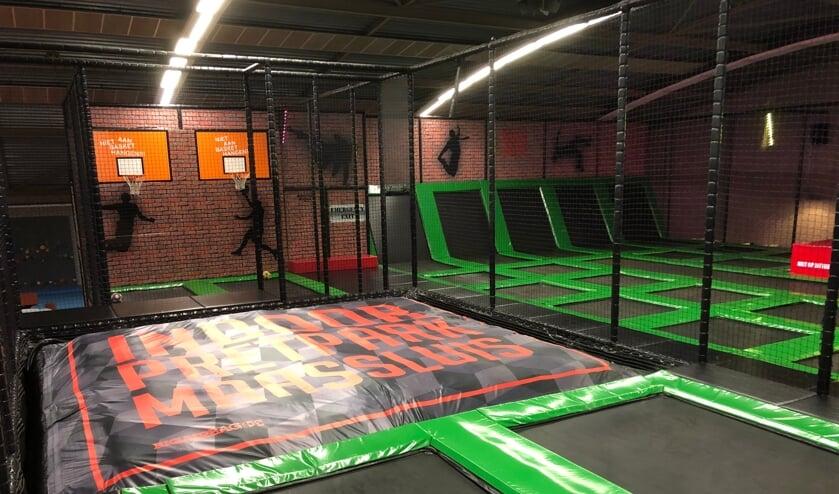 <p>Het trampolinepark van Indoorpretpark Maassluis</p>