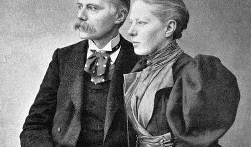 <p>Jacques van Marken en Agneta Matthes&nbsp;</p>