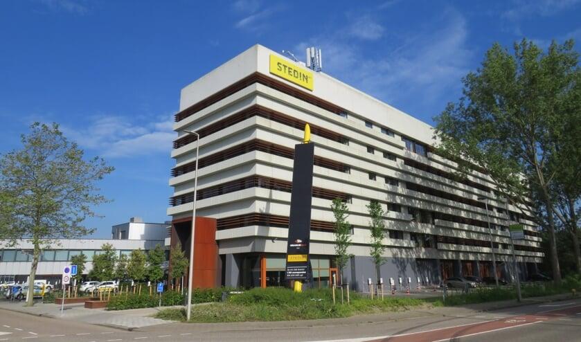 <p>Het gebouw van Stedin aan de Energieweg in Delft.&nbsp;</p>