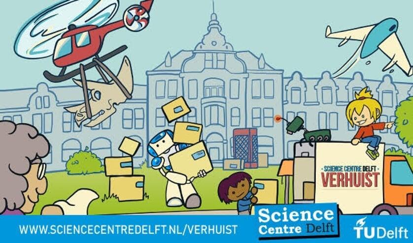<p>Wees er wel snel bij, want het Science Centre Delft verhuist!</p>