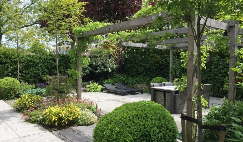 <p>Een tuin die ontworpen en aangelegd is door Diemel Groenvoorzieningen</p>