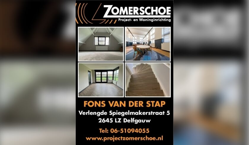 <p>Voor elke vloer- en raambekleding kunt u terecht bij Fons van der Stap van Zomerschoe project- en woninginrichting in Delfgauw&nbsp;</p>