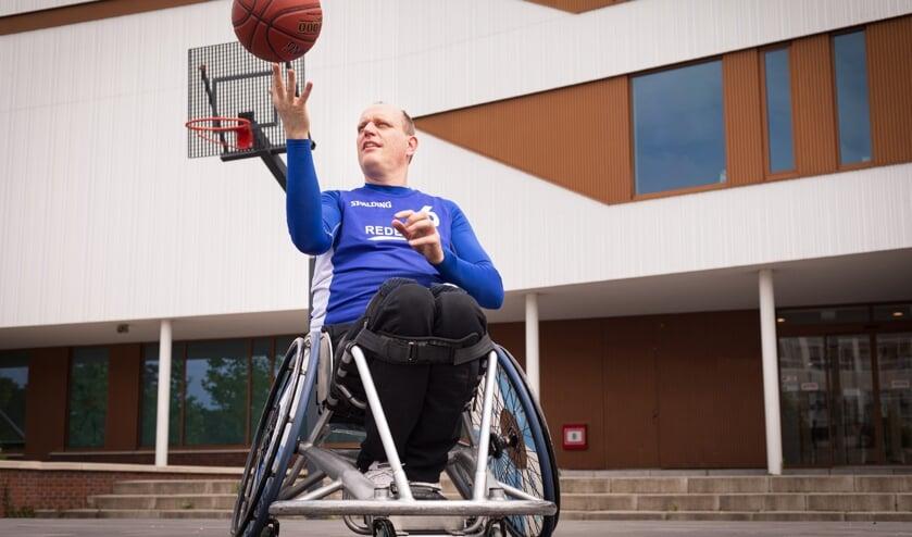<p>Martijn van REDEOSS is te zien op de campagne van SporteninDelft.nl <br>(Foto: Alyssa van Heyst)</p>