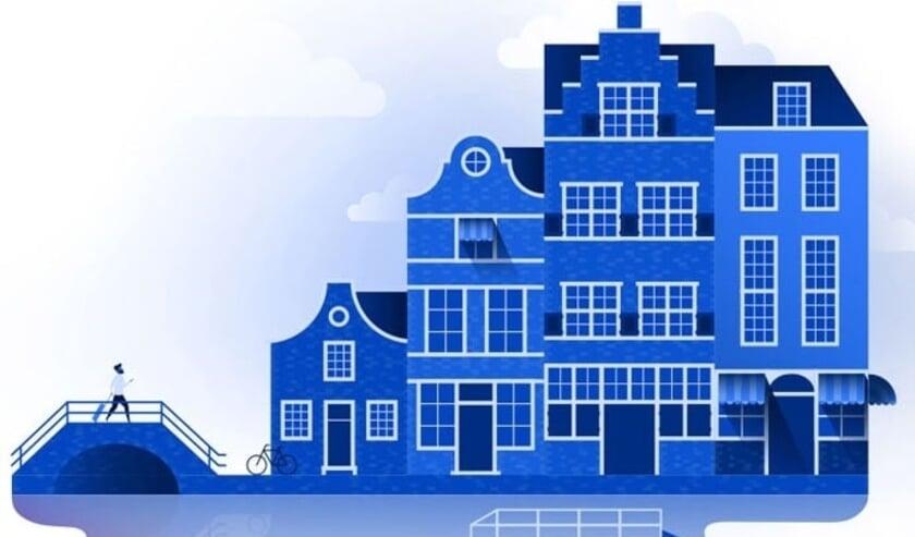 <p>Oude Delft Makelaardij brengt de sfeer van Delft over op de expats</p>