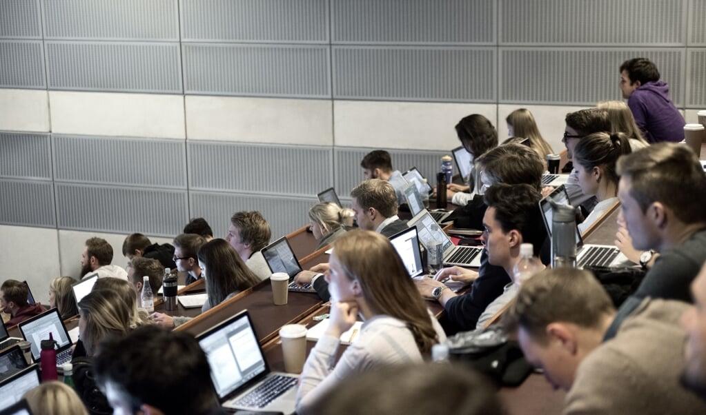 Omtrent tre ud af fire nye studerende har fået en studieplads i en af de fire største byer.  ( Mathias Bojesen/Ritzau Scanpix)