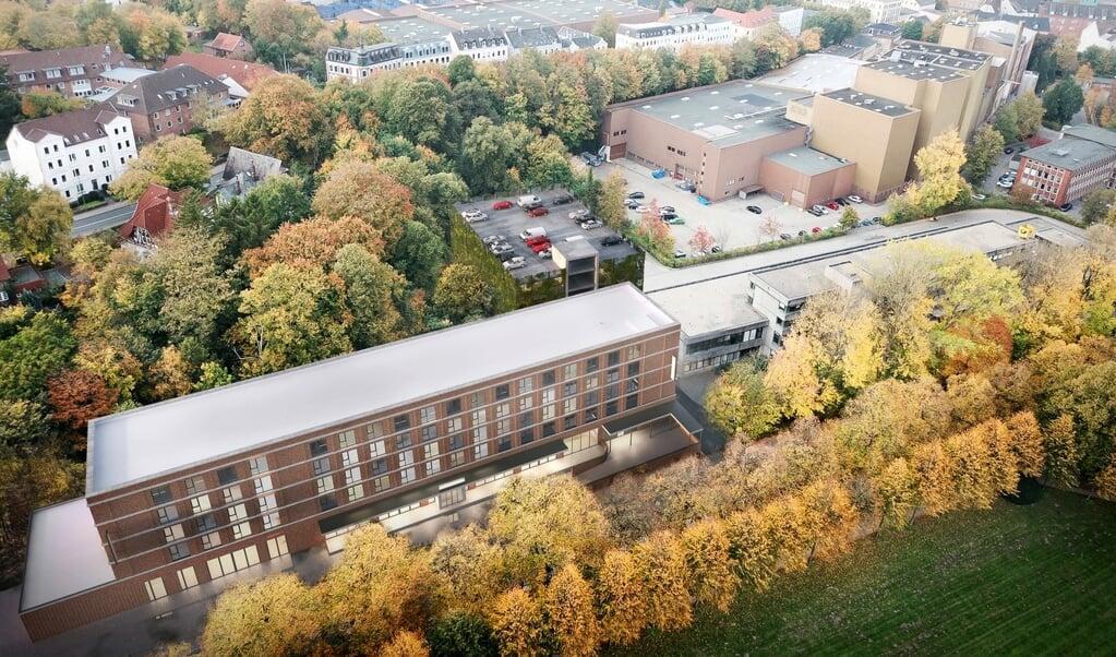 <p>Borgerinitiativet Bahnhofsviertel har ikke opgivet kampen mod det planlagte Intercity-Hotel ved Flensborgs baneg&aring;rd.&nbsp;</p>  (Modelfoto: Arkiv)