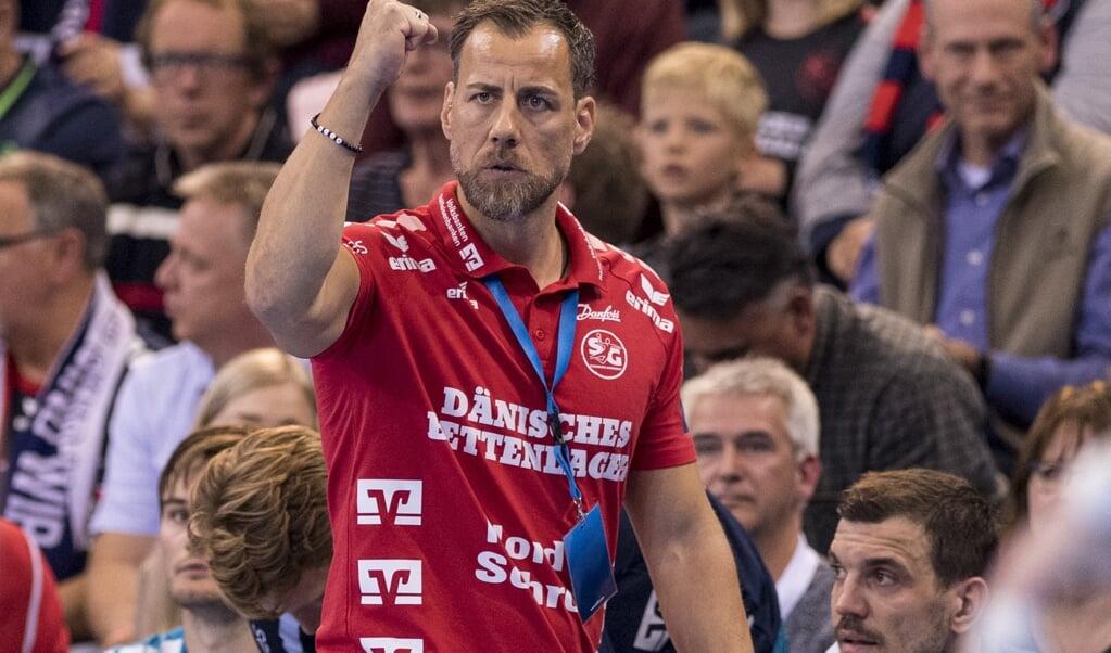 Maik Machulla steht mit seinem Team im Viertelfinale.  ( Martin Ziemer )