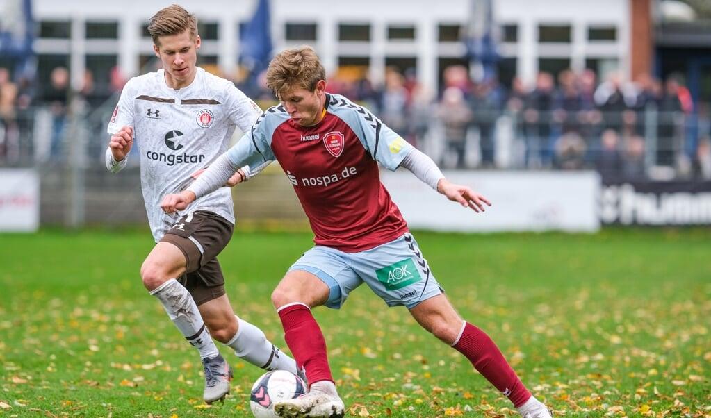 Wann Casper Olesen und Co. wieder spielen dürfen ist weiterhin ungewiss. Fest steht: der SC Weiche Flensburg 08 meldet nicht für die 3. Liga.  ( Sven Geißler)