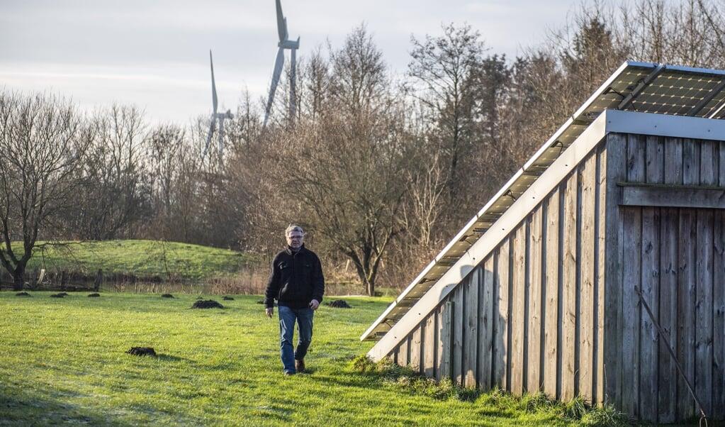 Klixbülls borgmester, Werner Schweizer (kommunal vælgerforening) står i spidsen for at omsætte verdensmålene i den lille kommune med de mange vindmøller.   Kira Kutscher  (Kira Kutscher)