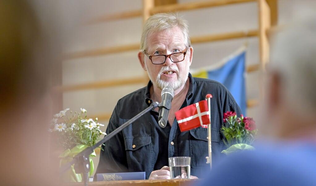 Enhedslisten går til finanslovsforhandlingerne med krav om ekstra 20 millioner kroner til Sydslesvig, fortæller formand for Sydslesvigudvalget, Christian Juhl (EL).  Martin Ziemer  (Martin Ziemer / nordpool)