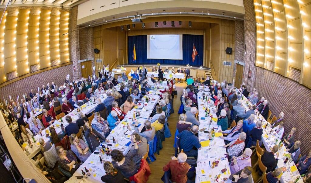 De delegerede kan ikke i år møde op til et fysisk landsmøde på grund af corona-restriktioner. Arkivfoto: Lars Salomonsen  ( Lars Salomonsen)