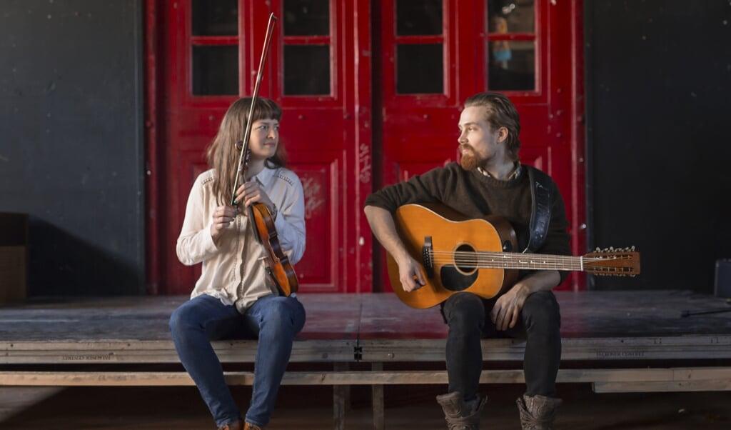 Maja Kjær Jacobsen og Søren Vinther Røgen er Maskineriet.   (PR-Foto)